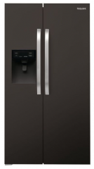 Hotpoint Day 1 Fresh  A+ Rated Side by Side Fridge Freezer Water & Ice Dispenser SXBHE925WDUK(Black)
